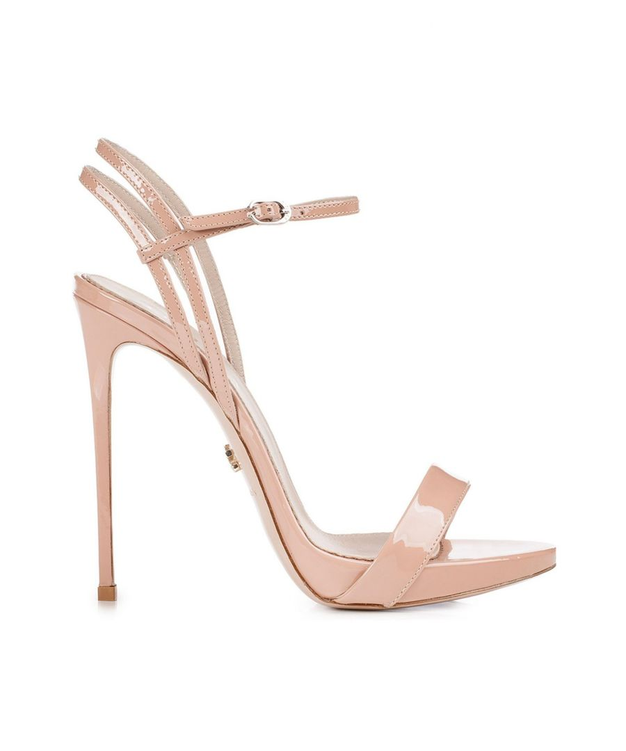 Image for LE SILLA WOMEN'S 8603M100R1PPKAB152 PINK LEATHER SANDALS