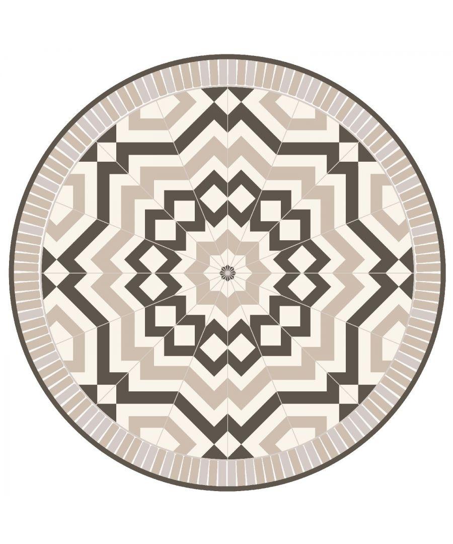 Image for WFM6209 - Moraccan Tile Design Mat 199 cm Diameter