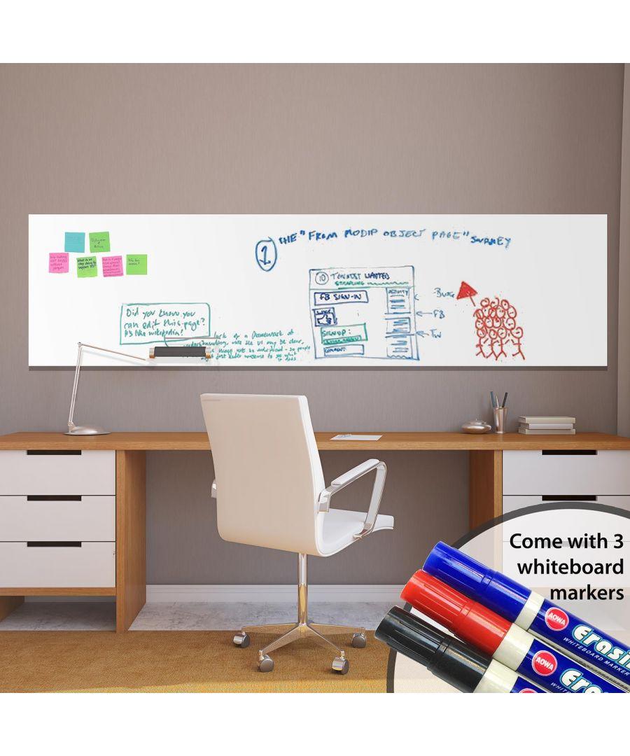 Image for Wall Art - Whiteboard x 2 PACKs