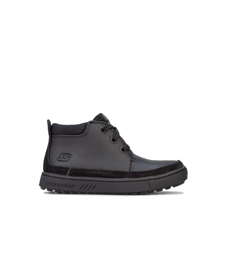 Image for Boy's Skechers Children Direct Pulse Boots in Black