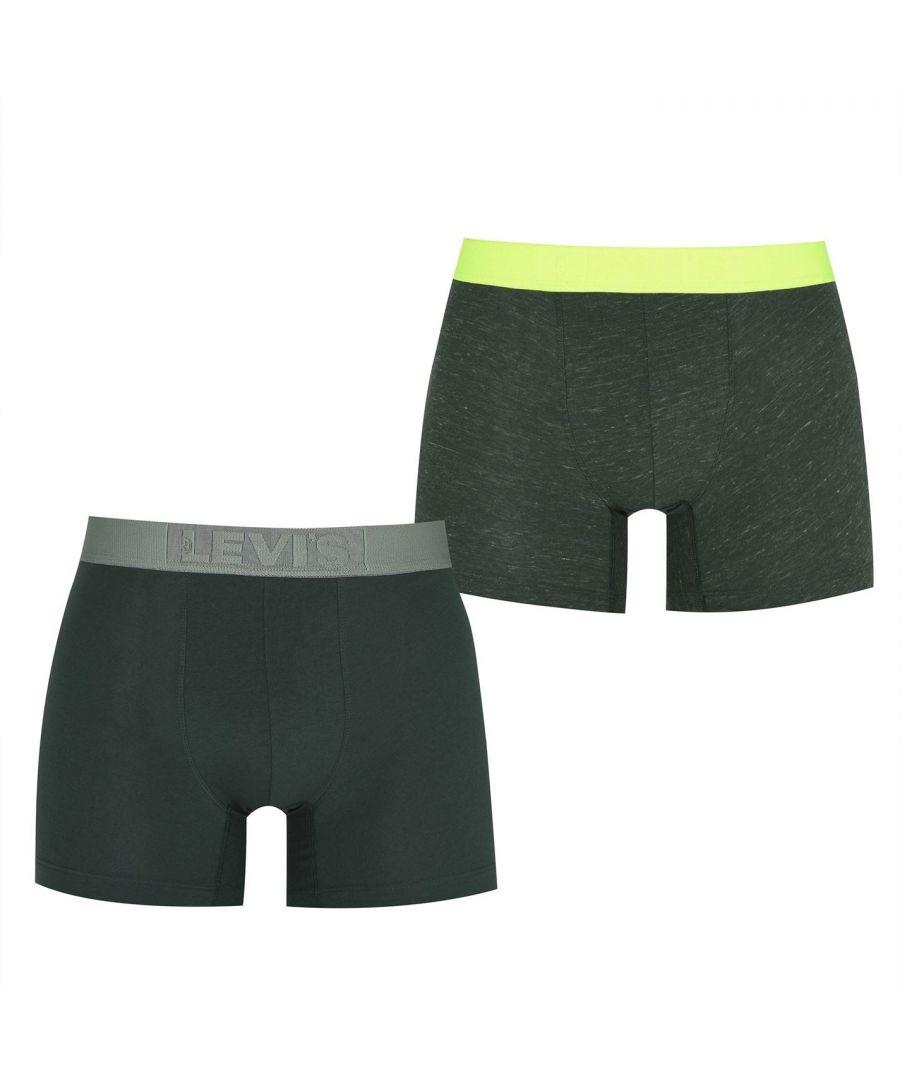 Image for Levis Unisex Pair Boxers Elasticated Waistband Briefs Bottoms Underwear