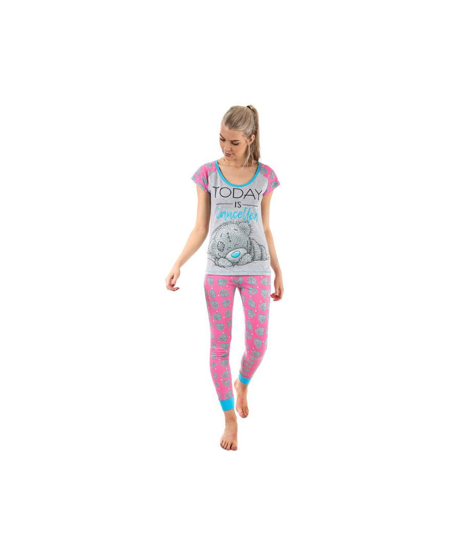 Image for Women's Me To You Tatty Teddy Pyjamas in Pink