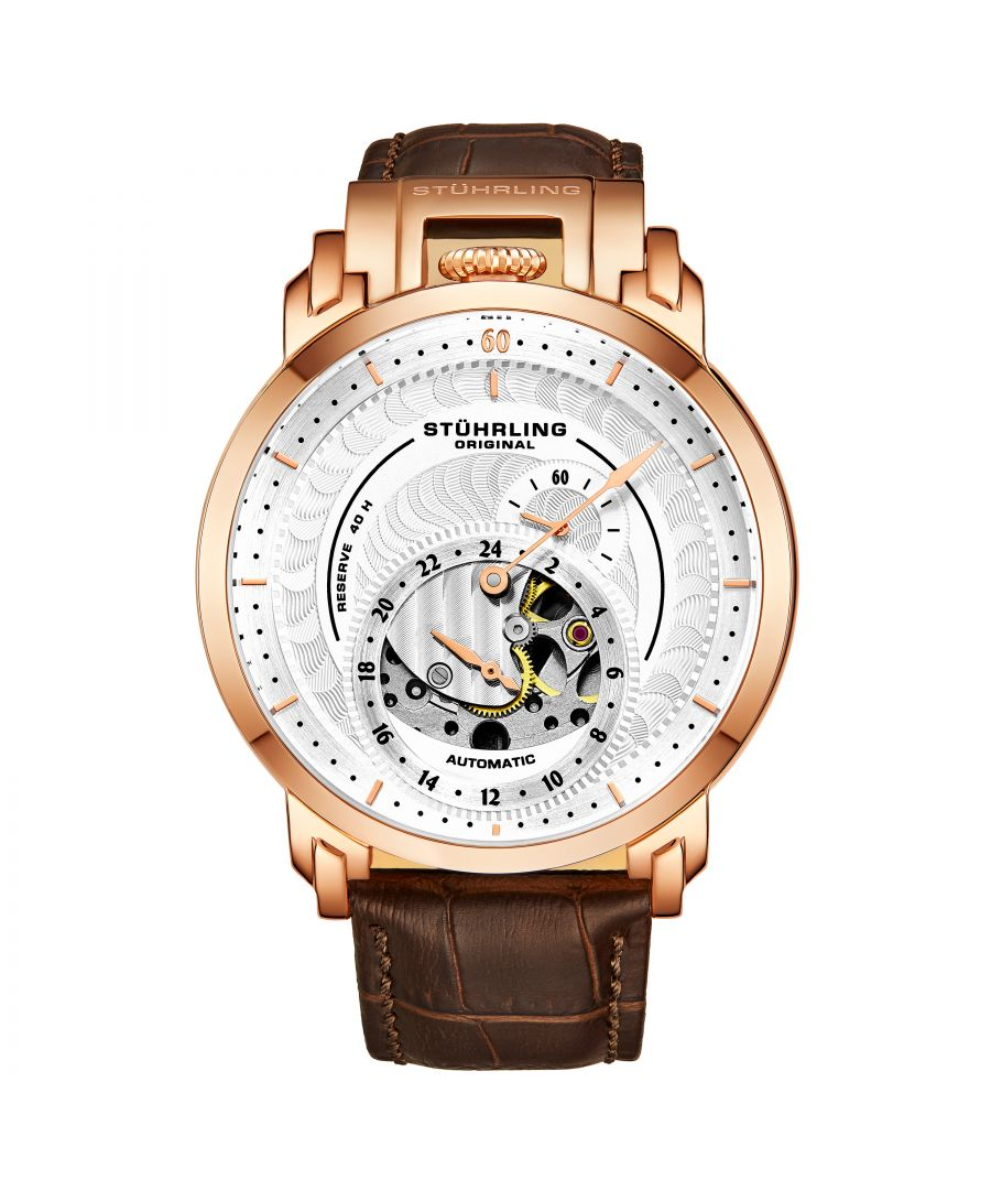 Image for Gold Automatic 44mm Skeleton