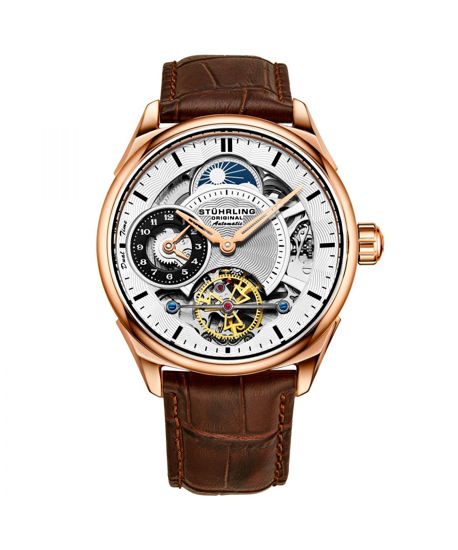 Image for Brown Presidia Automatic 42mm Skeleton