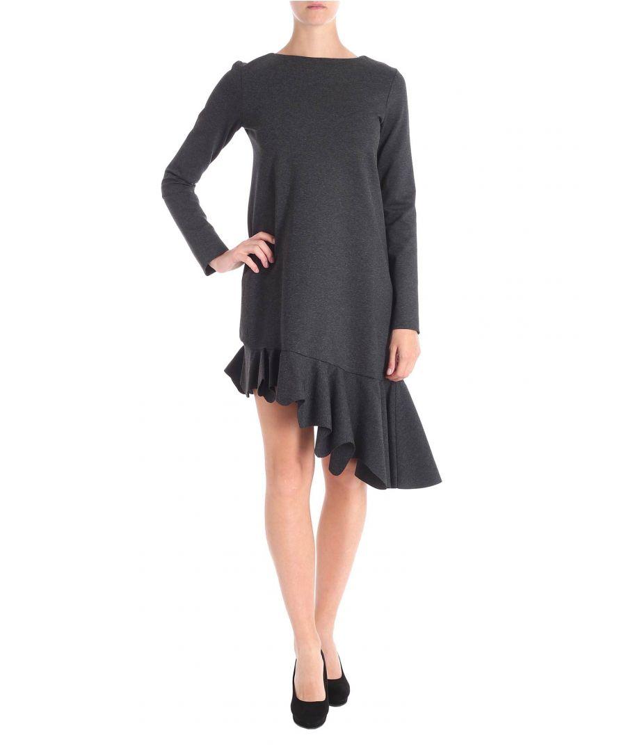 Image for LIVIANA CONTI WOMEN'S F8AI05900 GREY VISCOSE DRESS
