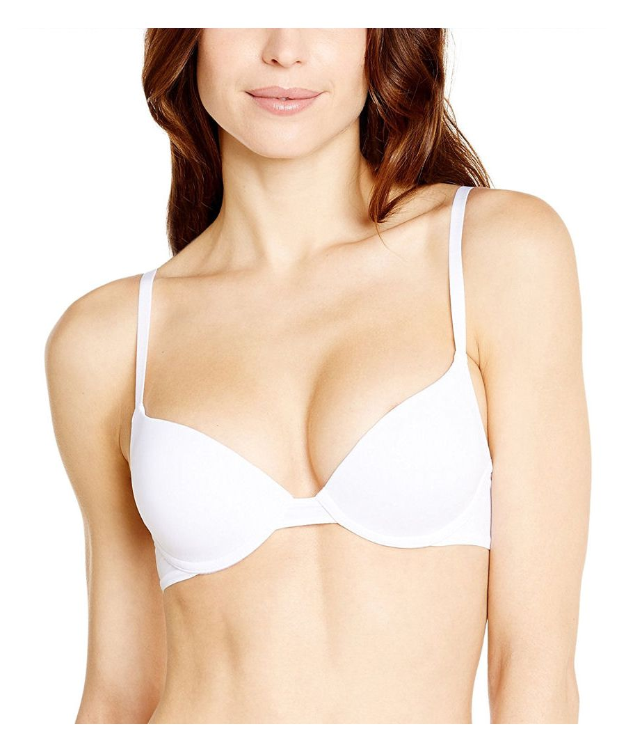 Image for Invisible Push Up T Shirt Bra