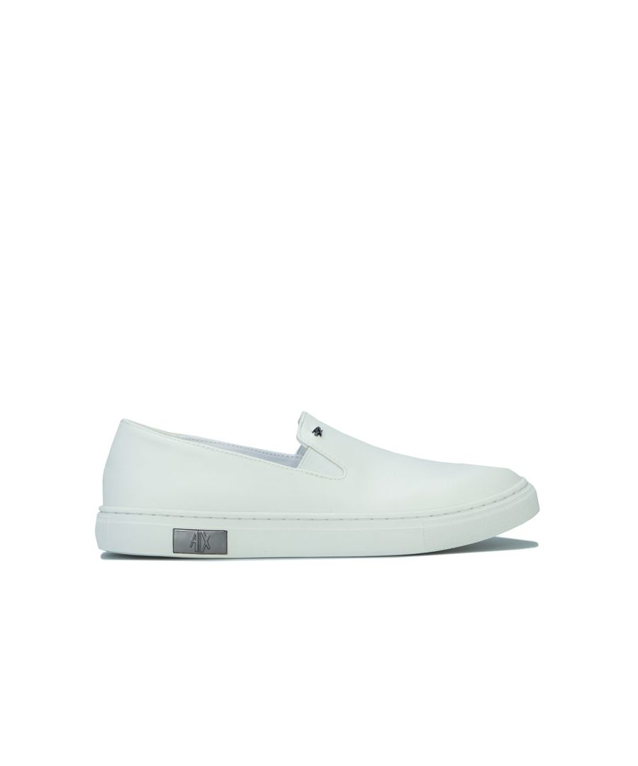 Image for Women's Armani Exchange Slip On in White