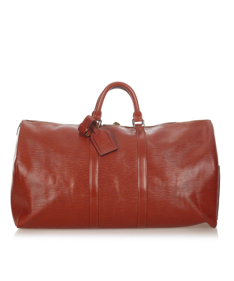Image for Vintage Louis Vuitton Epi Keepall 55 Brown