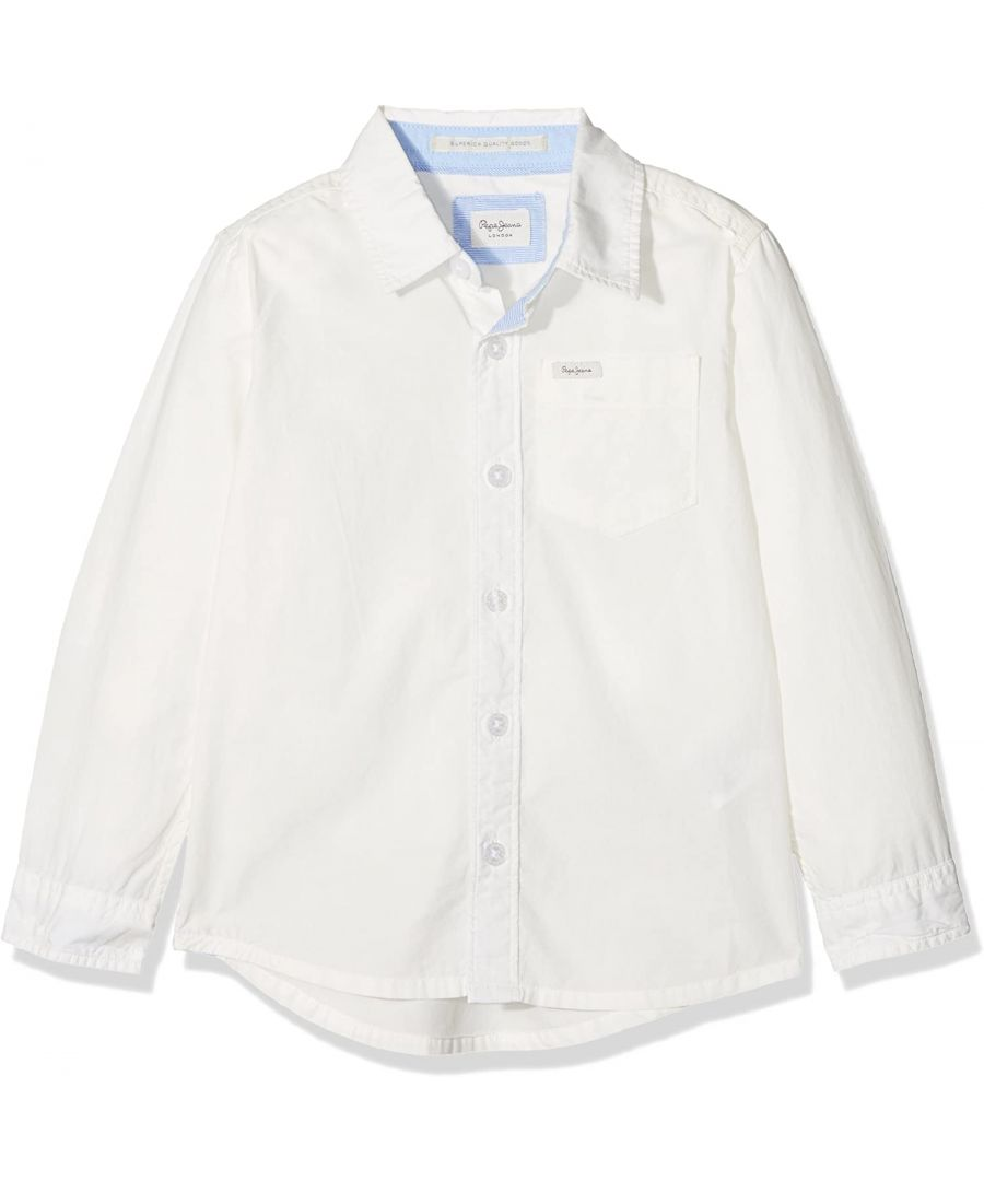 Image for Pepe Jeans Boys Manny Blouse in Off White