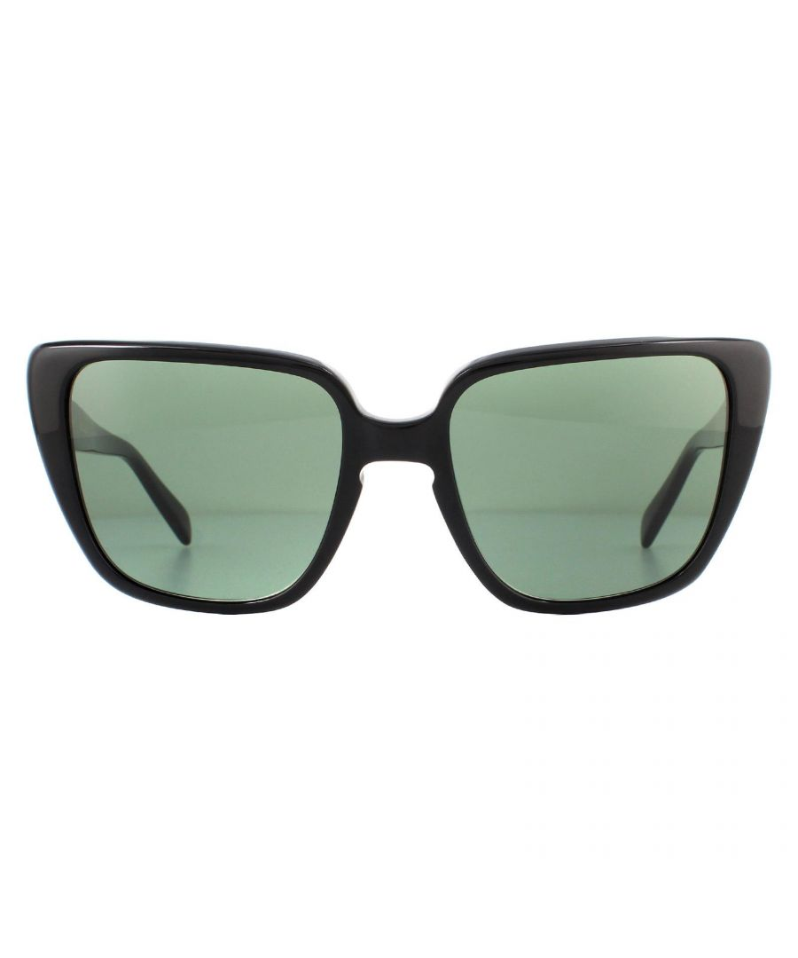 Image for Celine Sunglasses CL40047I 01N Shiny Black Green