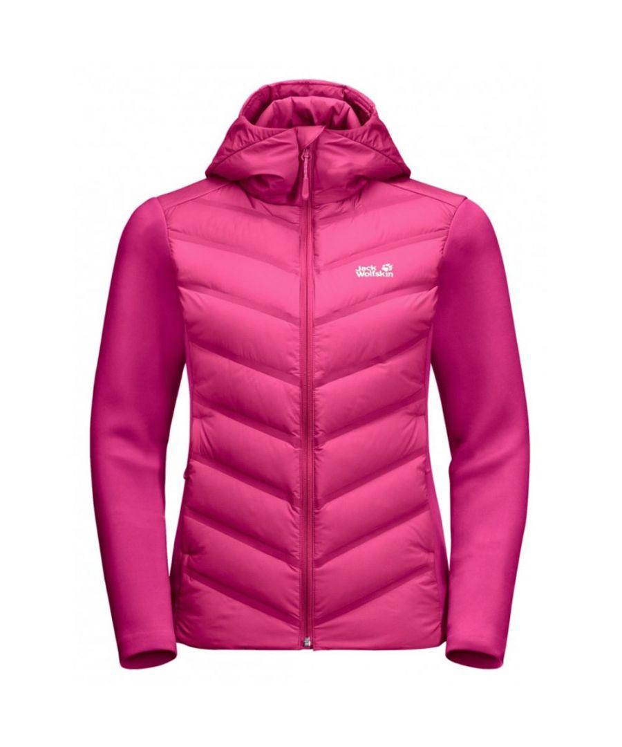 Image for Jack Wolfskin Tasman Womens Running Jacket Pink - S