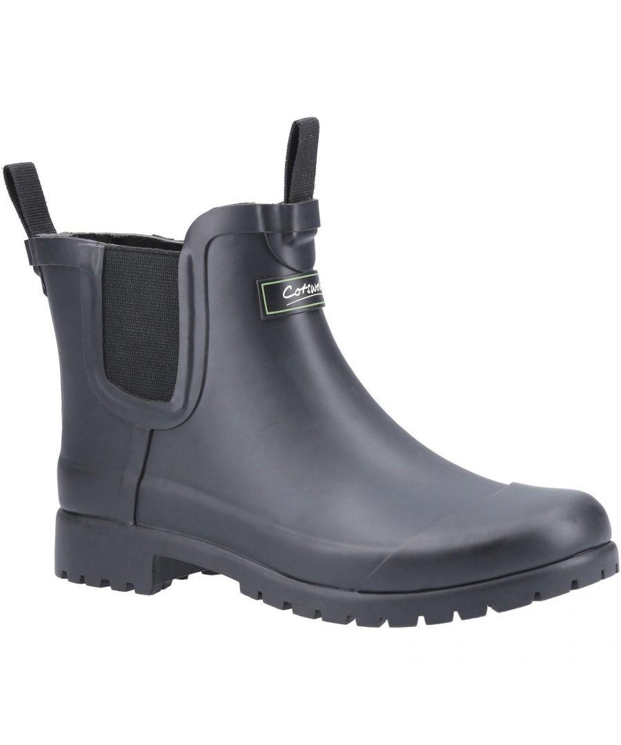 Image for Cotswold Womens/Ladies Blenheim Wellington Boot (Black)