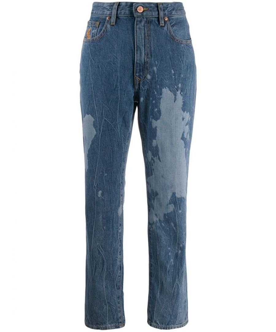 Image for VIVIENNE WESTWOOD WOMEN'S 1902001610982DEK501 BLUE COTTON JEANS