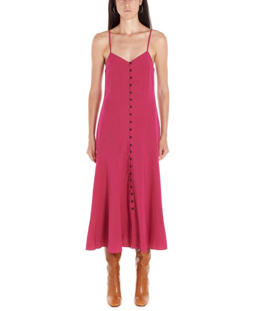 Image for MARA HOFFMAN WOMEN'S W907203680677 FUCHSIA SYNTHETIC FIBERS DRESS