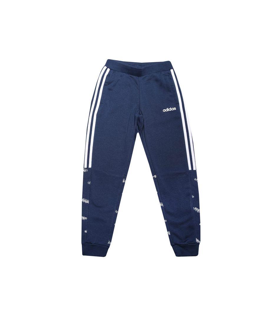 Image for Boy's adidas Junior Core Favorites Joggers Indigo 13-14in Indigo