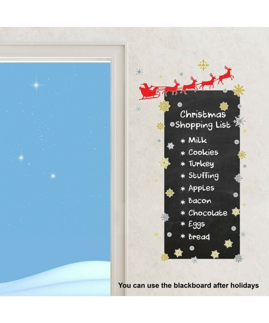 Image for WFXC8314 - COM - WS1199 + WS3323 Santa Buying List Blackboard
