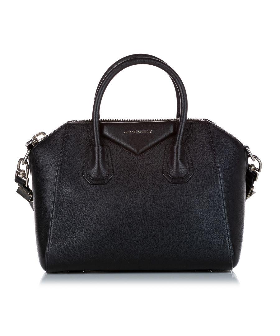 Image for Vintage Givenchy Antigona Leather Satchel Black