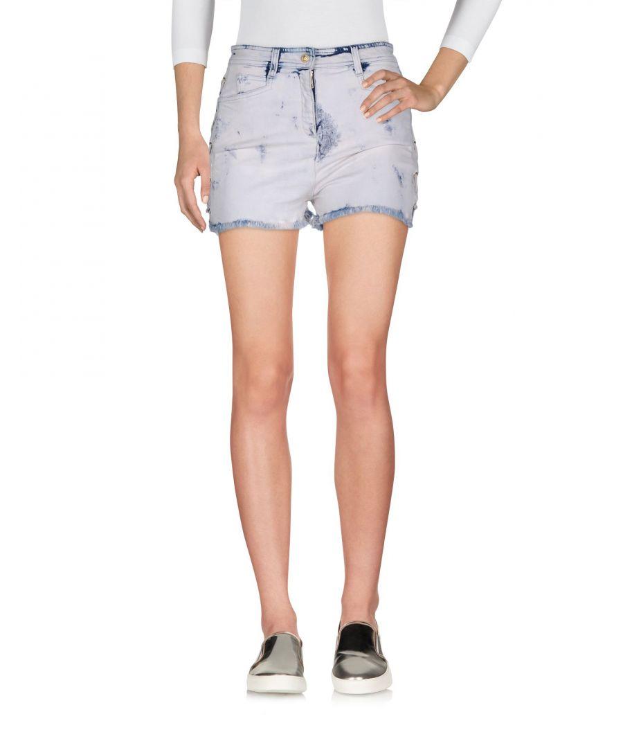 Image for Balmain Woman Denim shorts Cotton