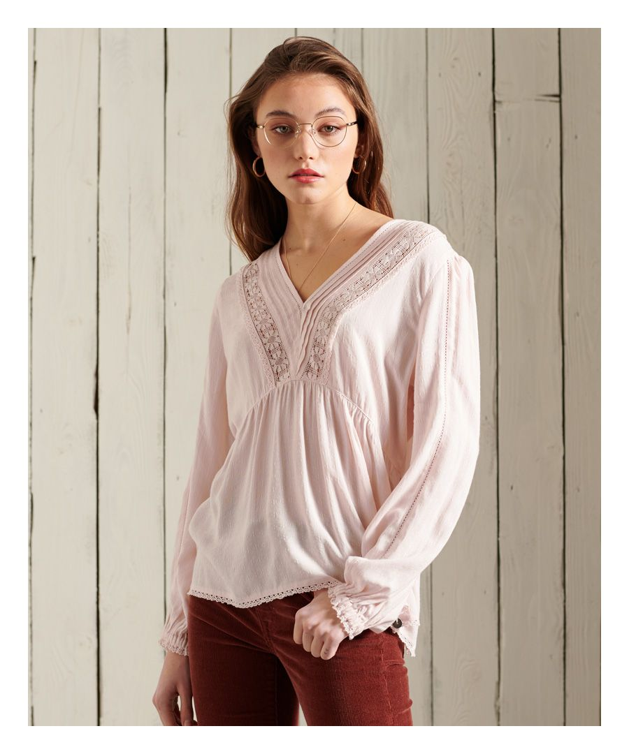 Image for Superdry Jenny Lace Top
