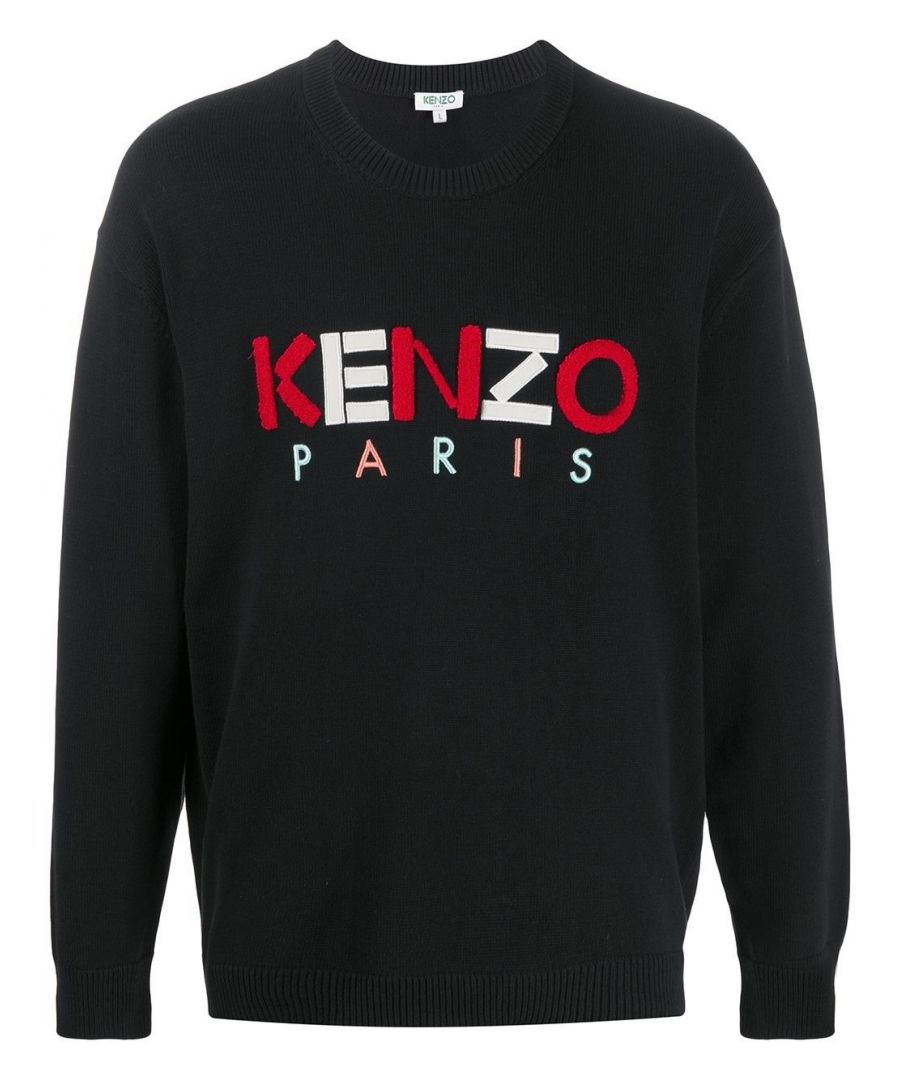 Image for KENZO MEN'S FA55PU2173LC99 BLACK COTTON SWEATSHIRT