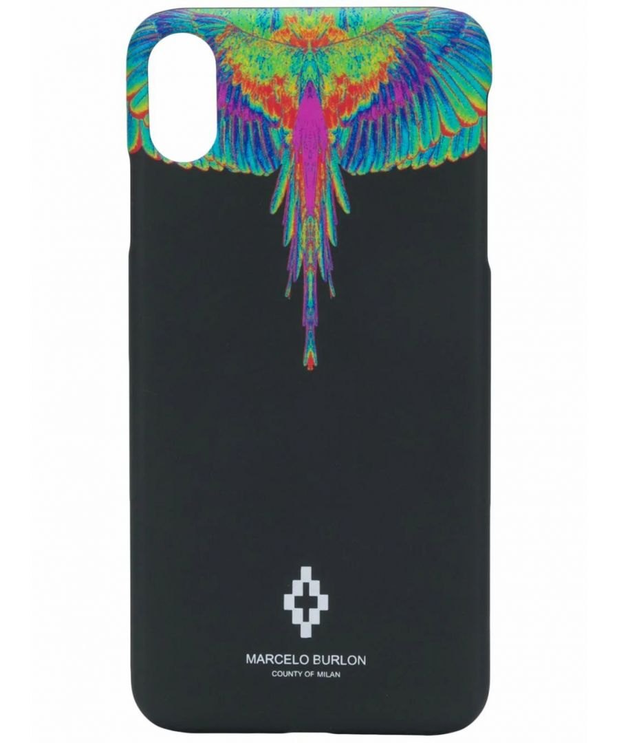 Image for MARCELO BURLON MEN'S CMPA012R20MAT0021040 BLACK PVC COVER