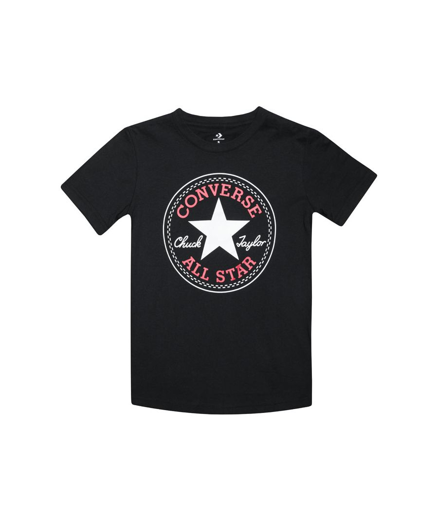Image for Boy's Converse Junior Core Patch T-Shirt in Black