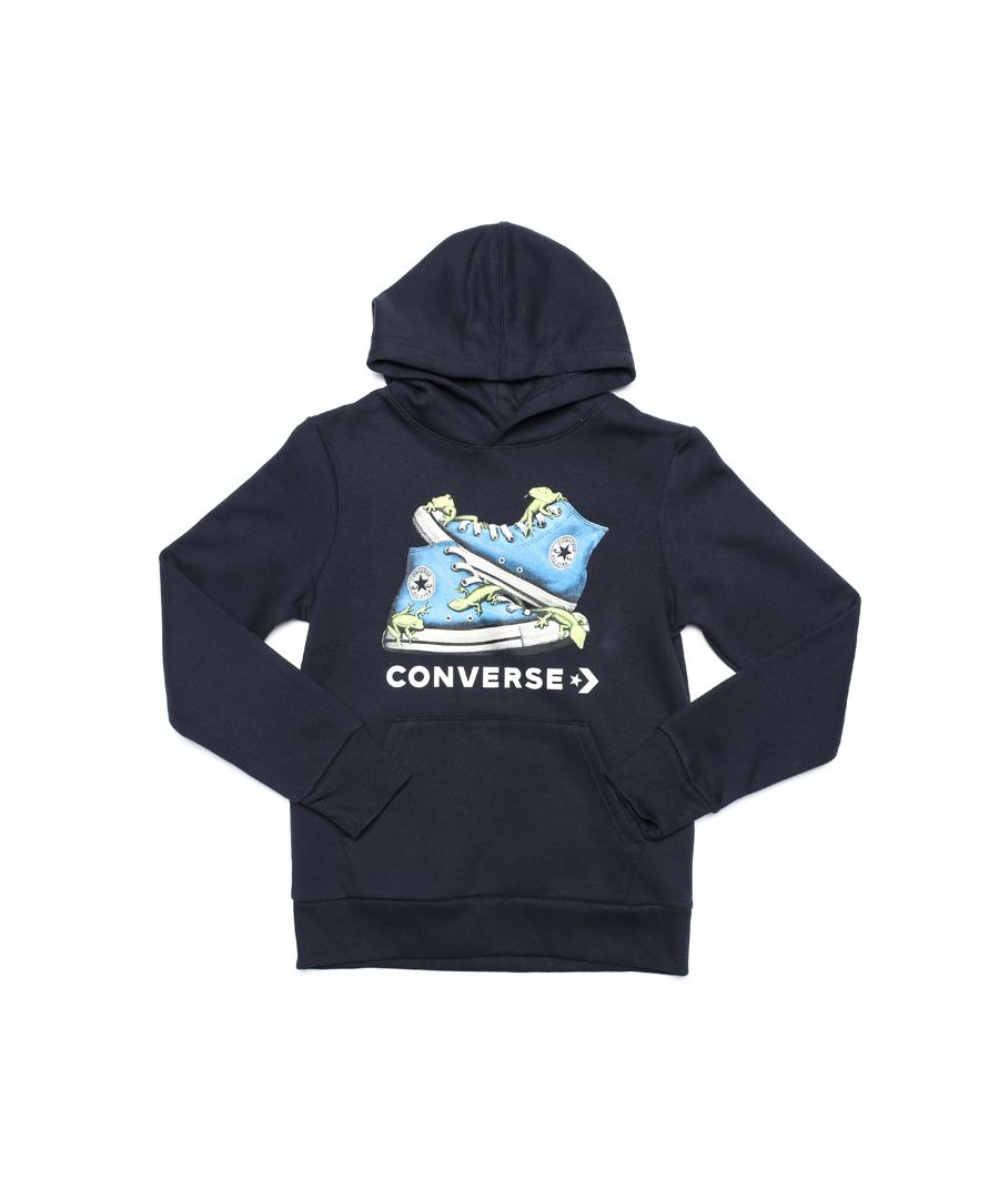 Image for Boy's Converse Junior Bio Chuck Hoody in Navy