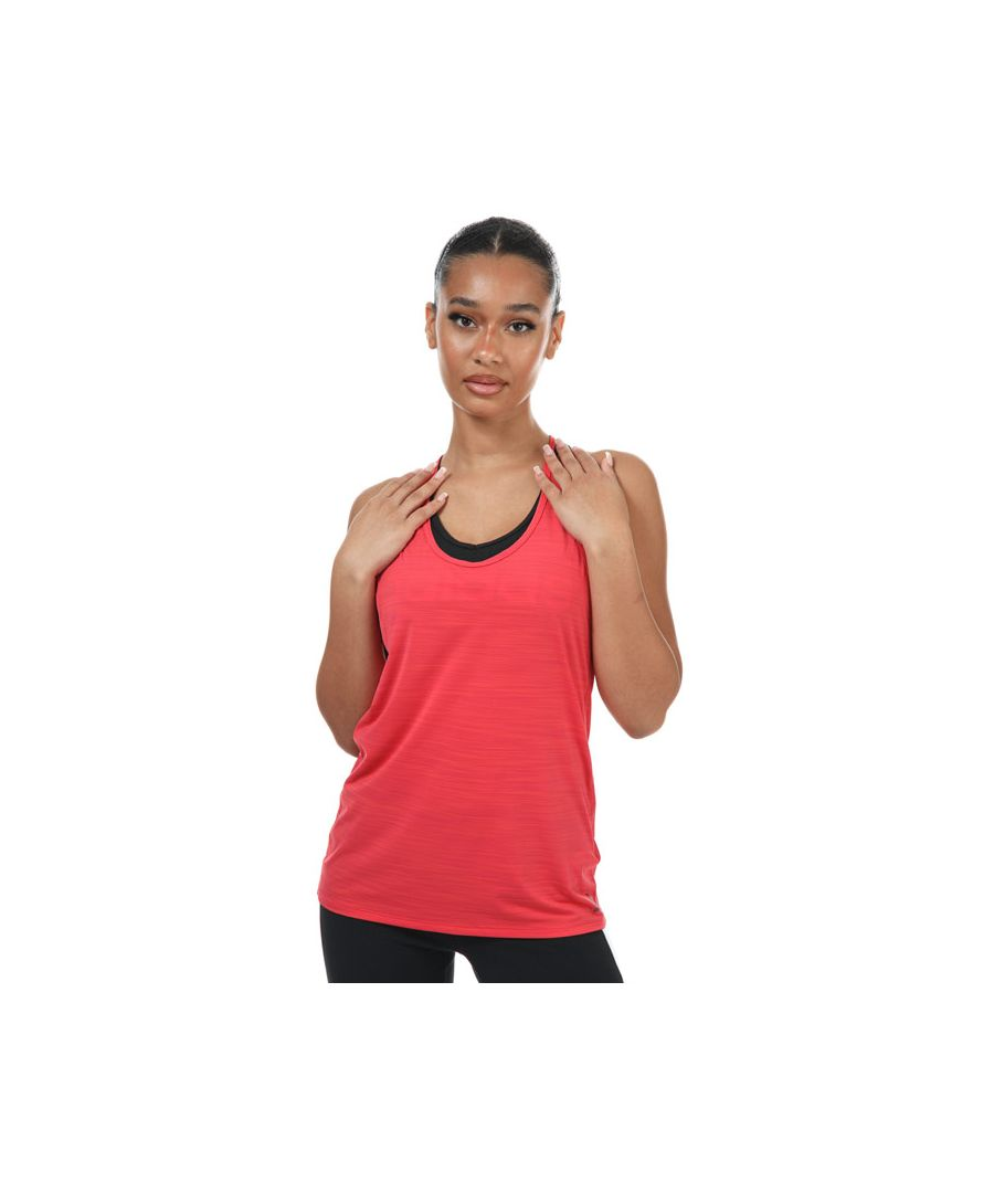 Image for Women's Reebok ACTIVCHILL Tank Top in Coral