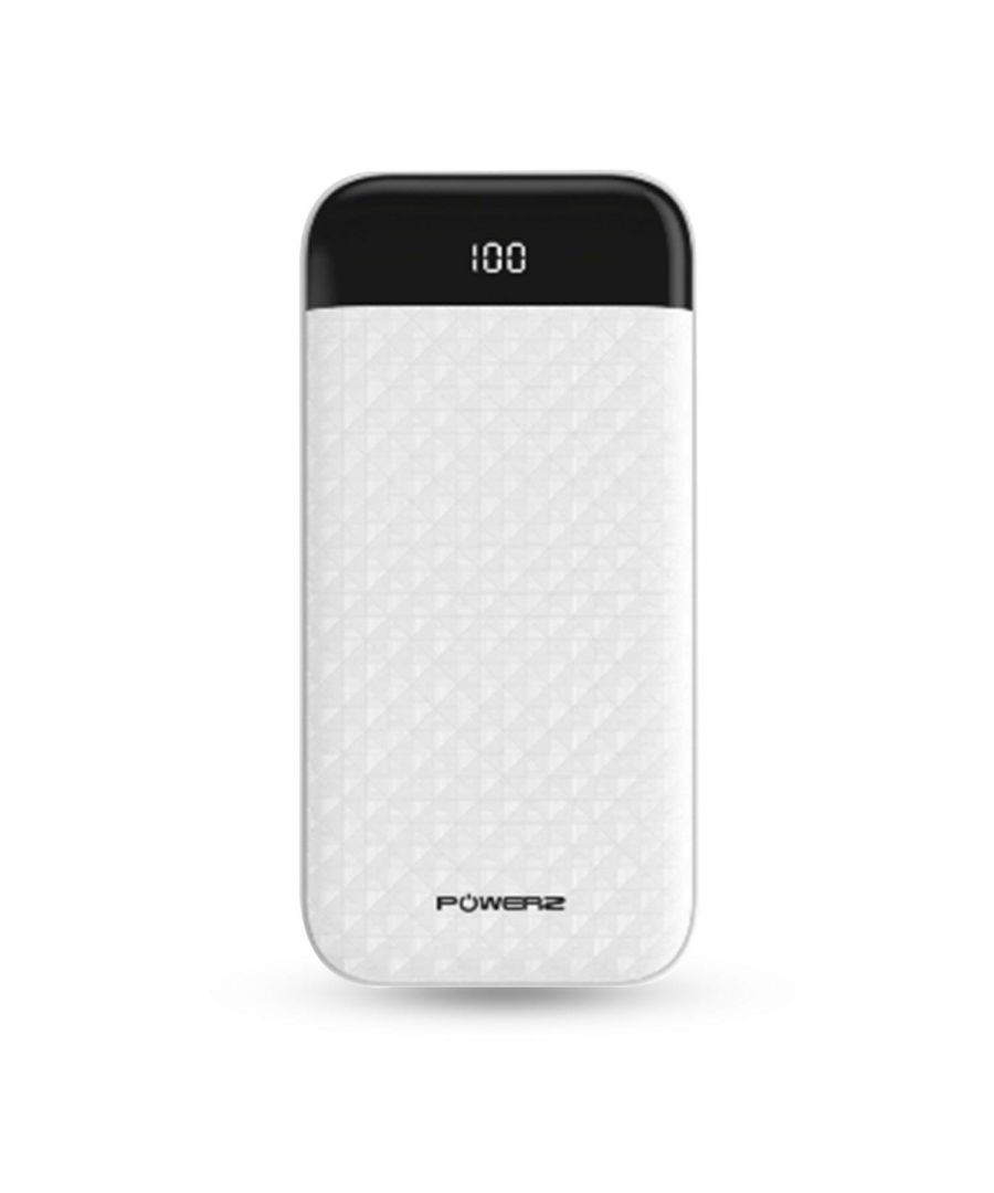 Image for Powerz Universally Compatible Power Bank 18W 2000MAH White