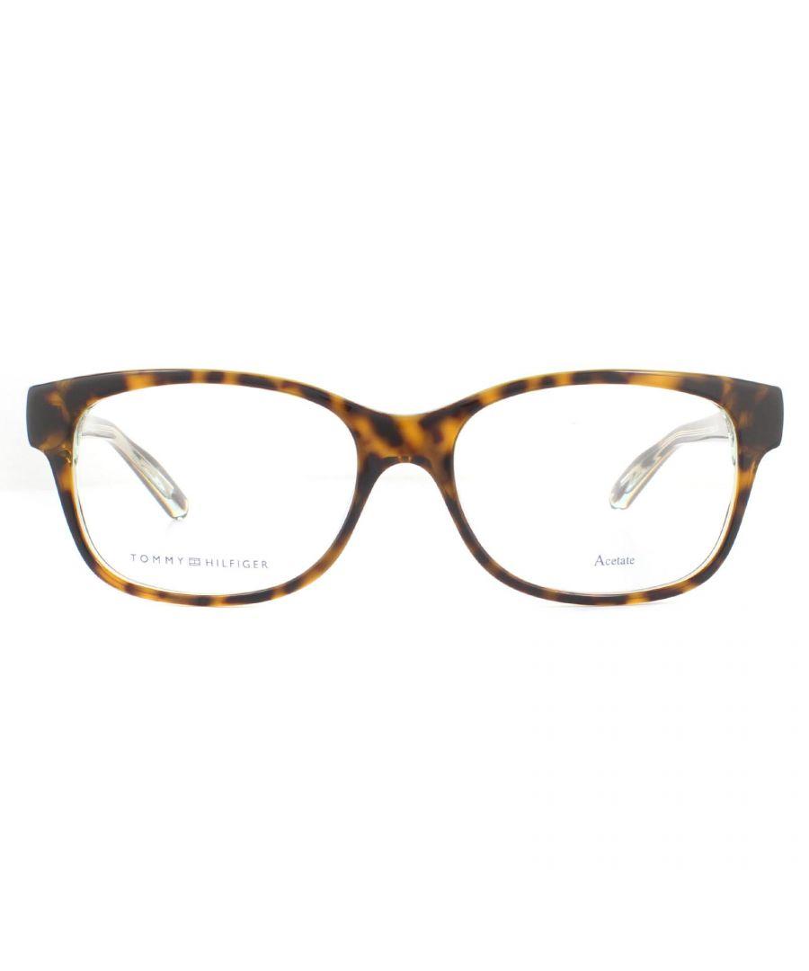 Image for Tommy Hilfiger Glasses Frames TH 1017 1IL Havana Transparent Grey Men Women