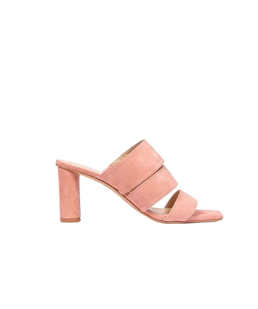 Image for KENDALL + KYLIE WOMEN'S KKLEILA01 PINK SUEDE SANDALS