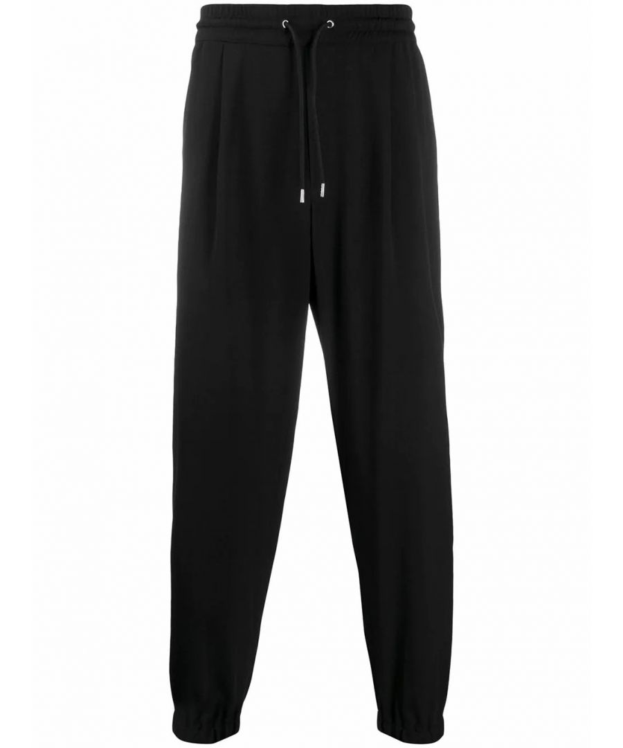 Image for MCQ BY ALEXANDER MCQUEEN MEN'S 420977RNQ291000 BLACK POLYESTER JOGGERS