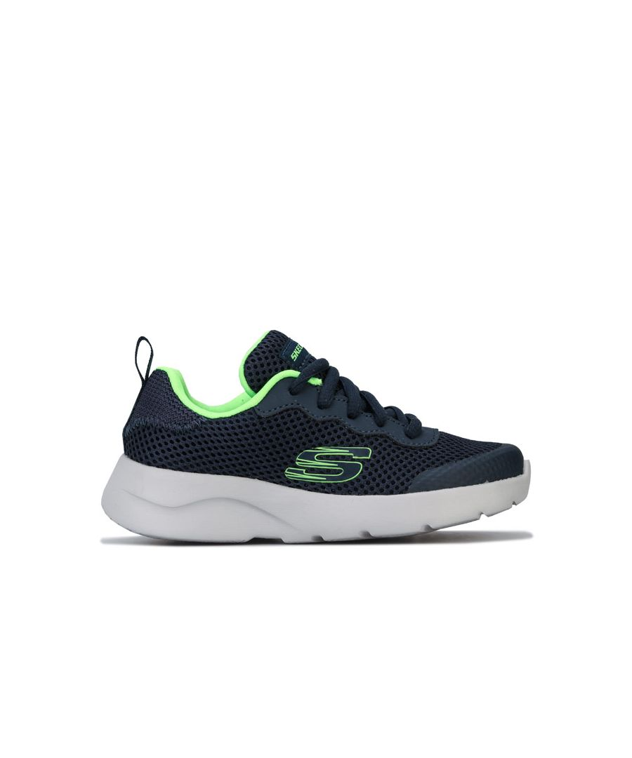 Image for Boy's Skechers Children Dynamight 2.0 Trainers in Navy