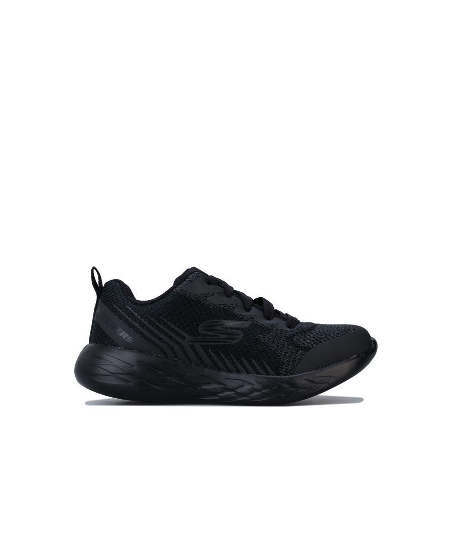 Image for Boy's Skechers Children Go Run Hendox Trainers in Black