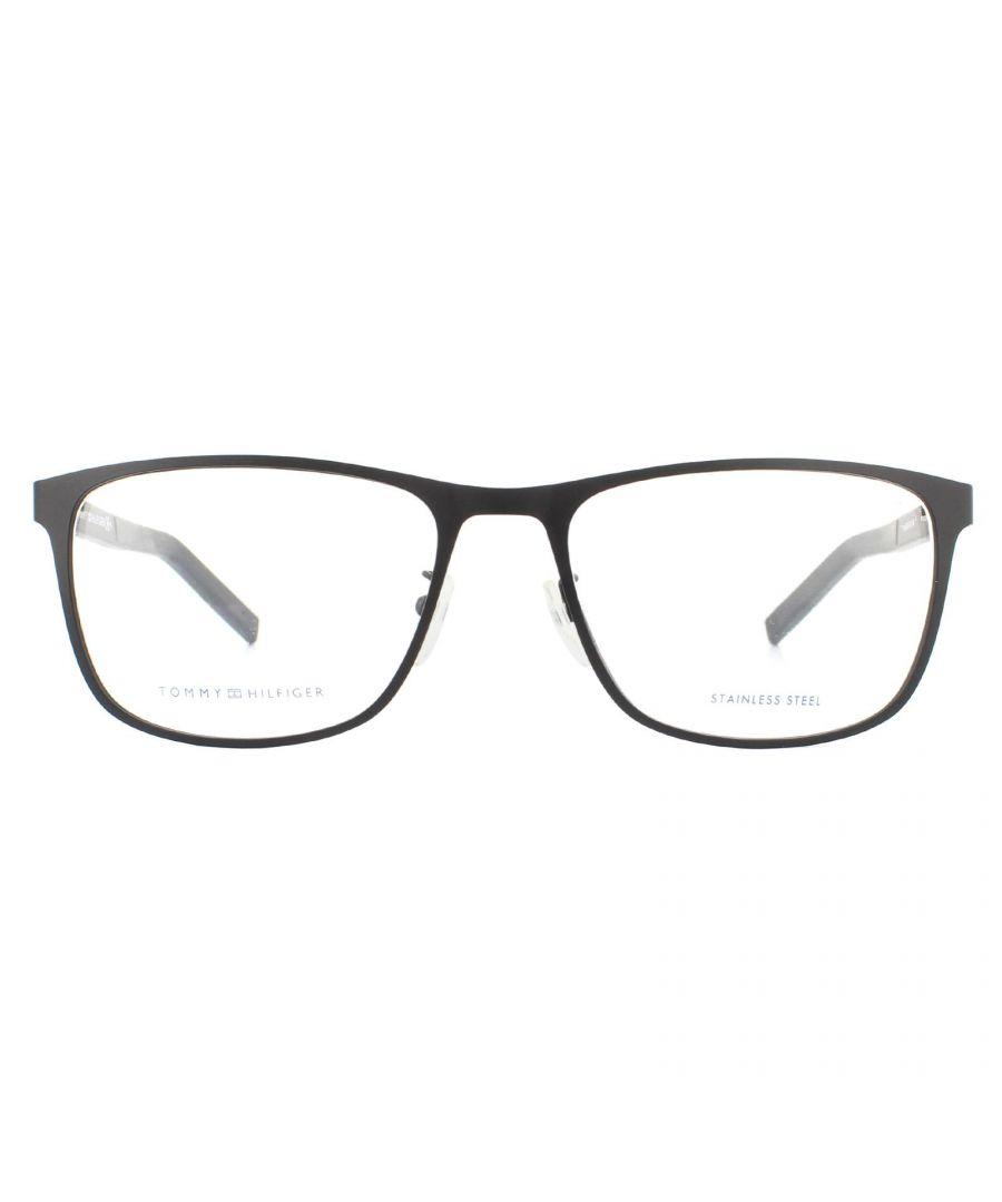 Image for Tommy Hilfiger Glasses Frames TH 1576/F 003 Matte Black Men