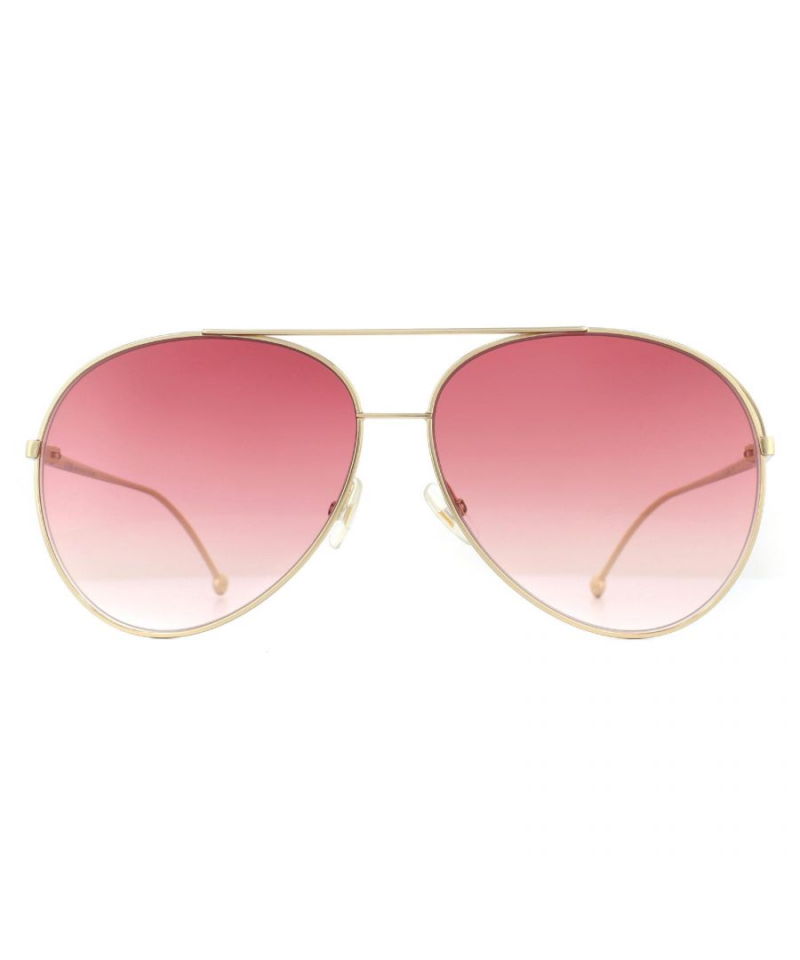 Image for Fendi Sunglasses FF 0286/S 000 3X Rose Gold Pink Gradient