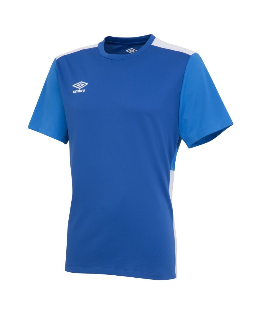 Image for Umbro Boys Polyester Training Jersey (Royal Blue/French Blue/White)