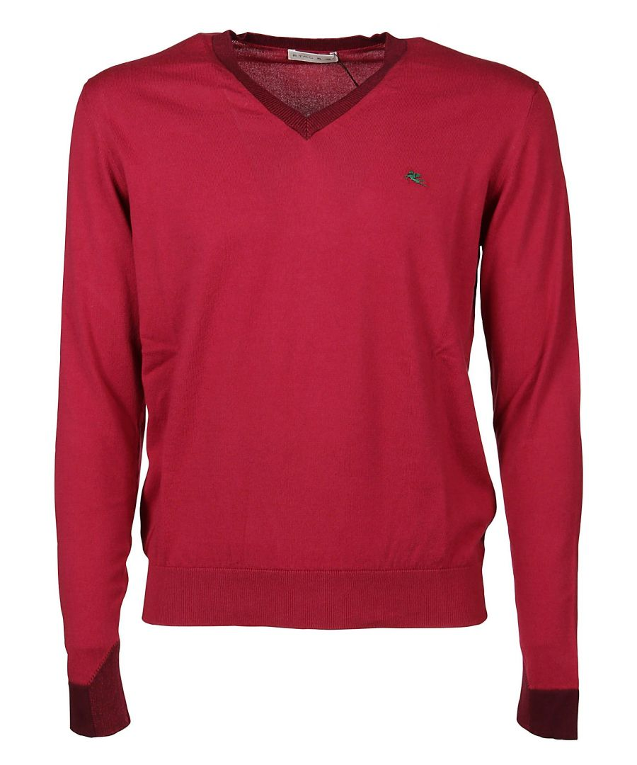 Image for ETRO MEN'S 1M50191800600 RED COTTON SWEATER