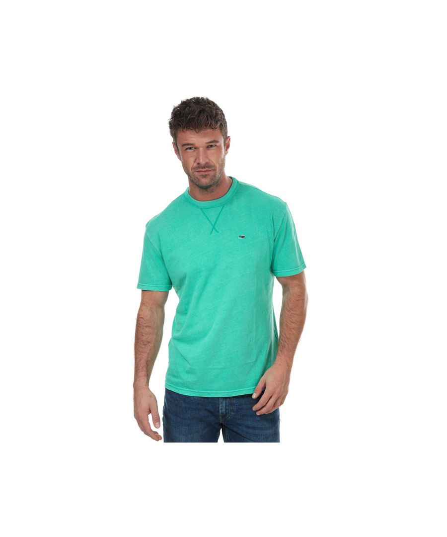 Image for Men's Tommy Hilfiger Classics Washed Relaxed T-Shirt in Green
