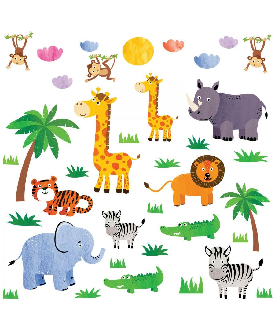 Image for Wall Art - Jungle animals