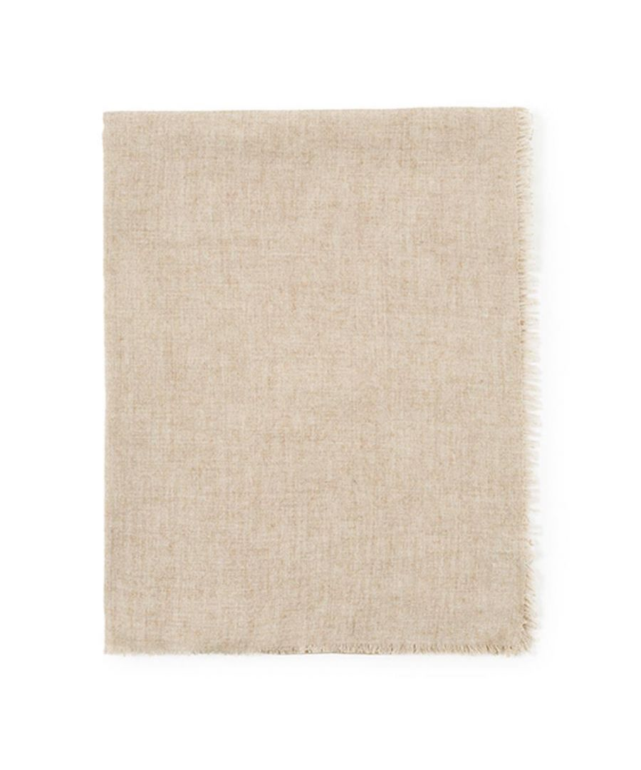 Image for Men's Hackett, Solid Marl Scarf in Camel