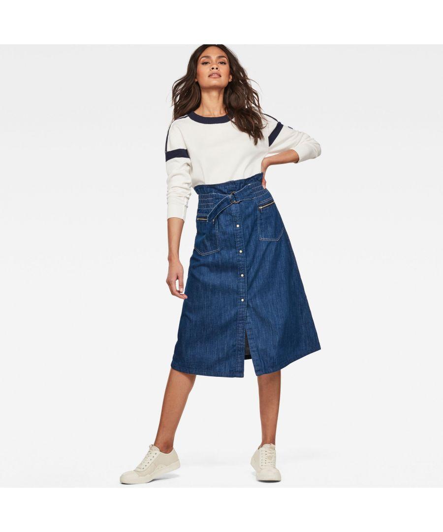Image for G-Star RAW Tacoma Zip Paperbag Skirt