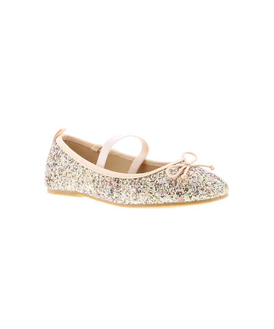 Image for Princess Stardust Rainbow Younger Girls Party Shoes 6-12