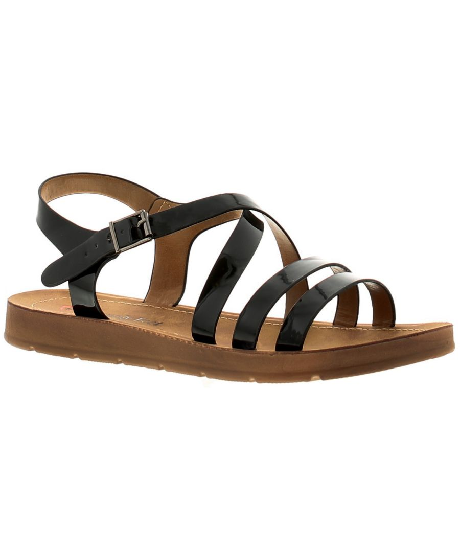 Image for Kimberley Womens Ladies Flat Sandals Assorted