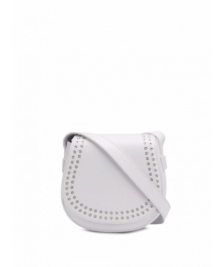 Image for MCQ BY ALEXANDER MCQUEEN WOMEN'S 525117R7B229000 WHITE LEATHER SHOULDER BAG