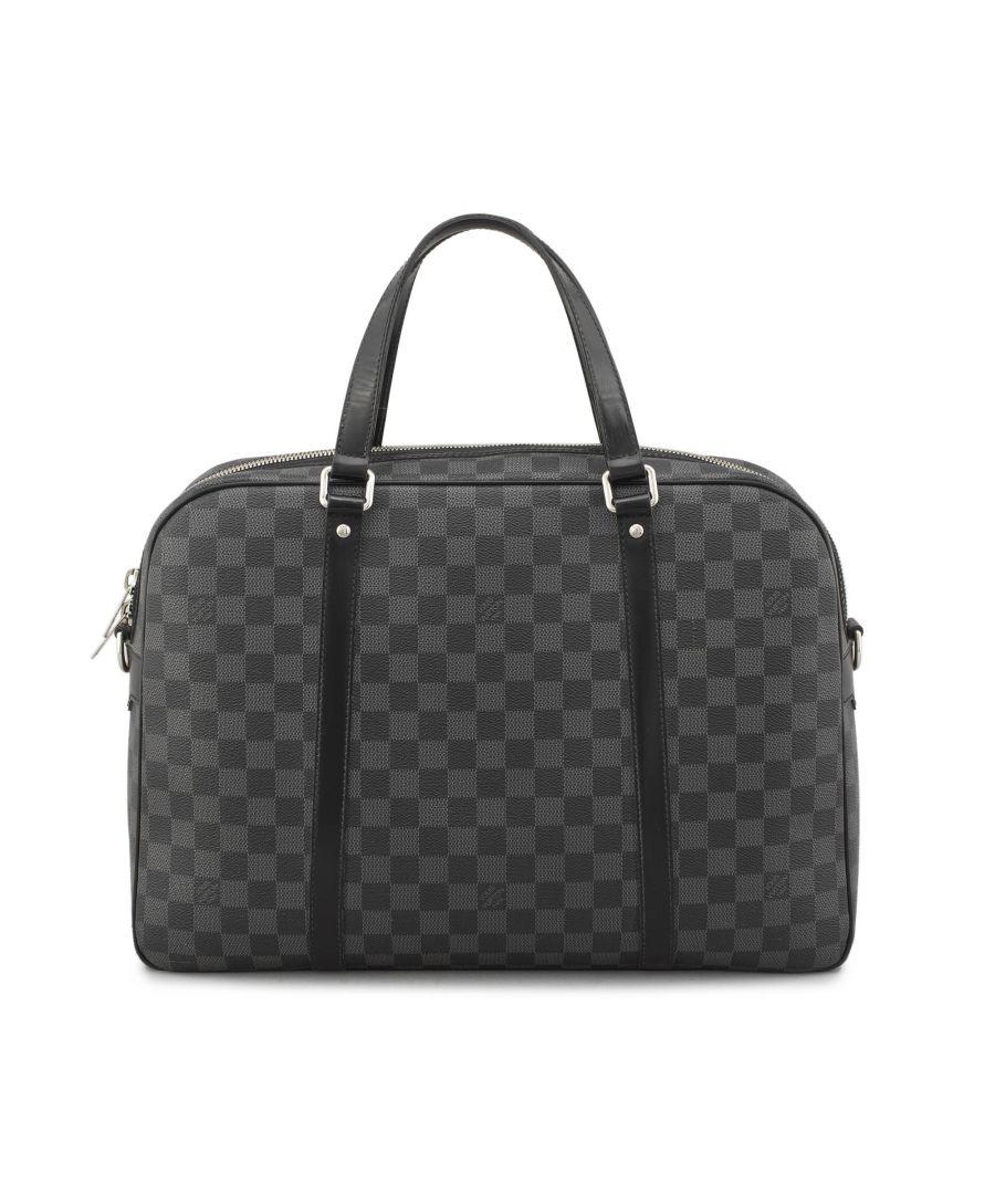 Image for Vintage Louis Vuitton Damier Graphite Jorn Black