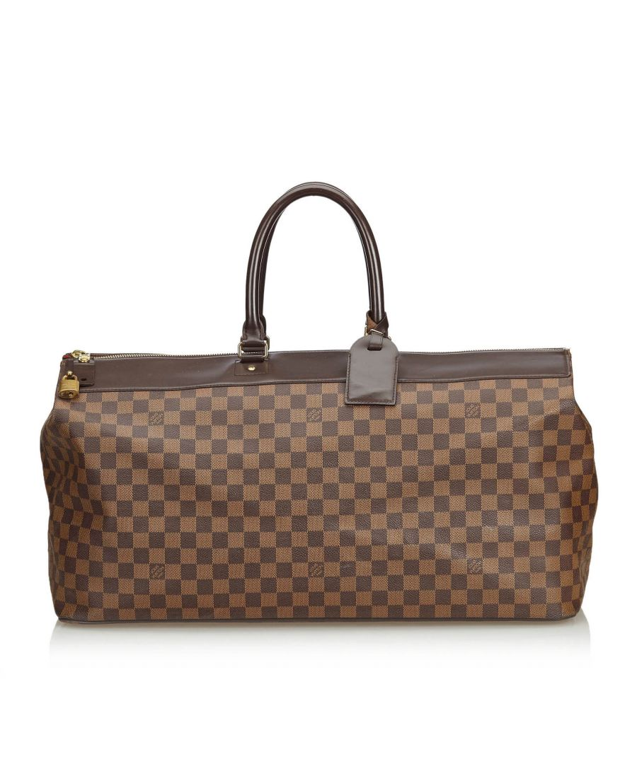 Image for Vintage Louis Vuitton Damier Ebene Greenwich GM Brown