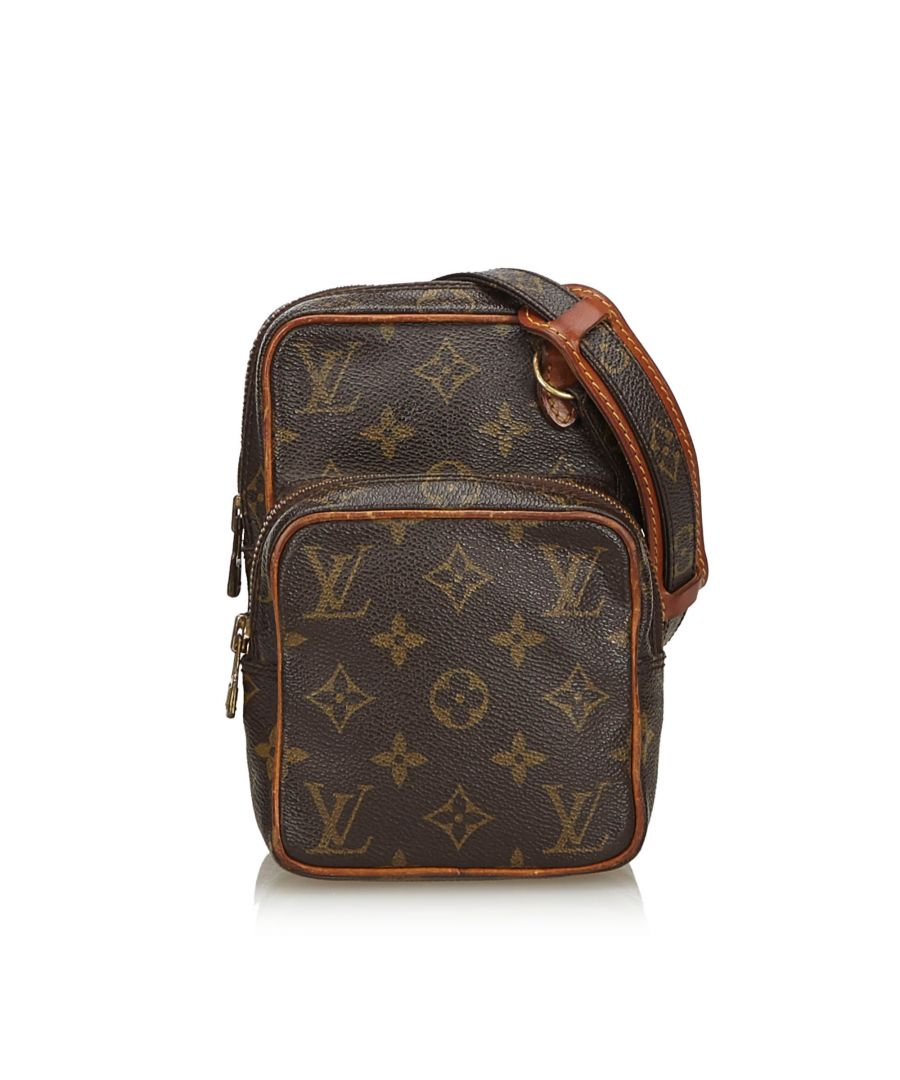 Image for Vintage Louis Vuitton Monogram Mini Amazone Brown