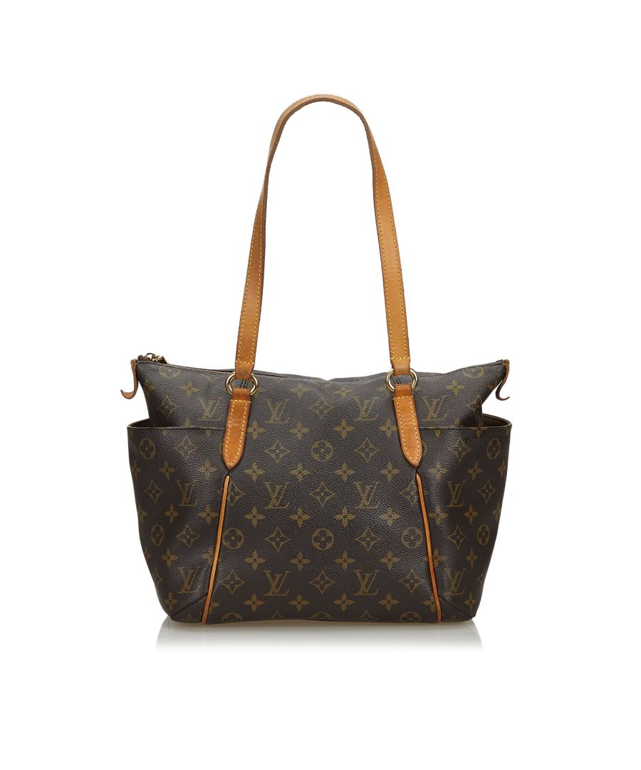 Image for Vintage Louis Vuitton Monogram Totally PM Brown