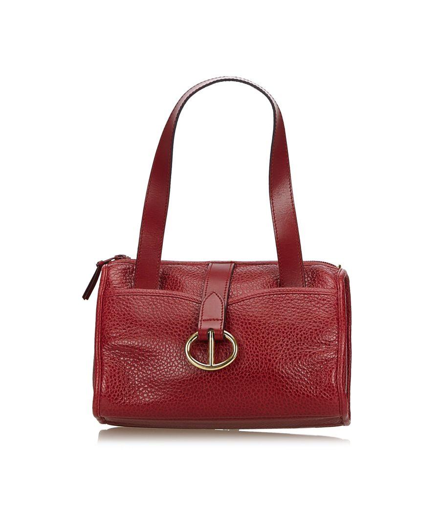 Image for Dior Leather Handbag Red